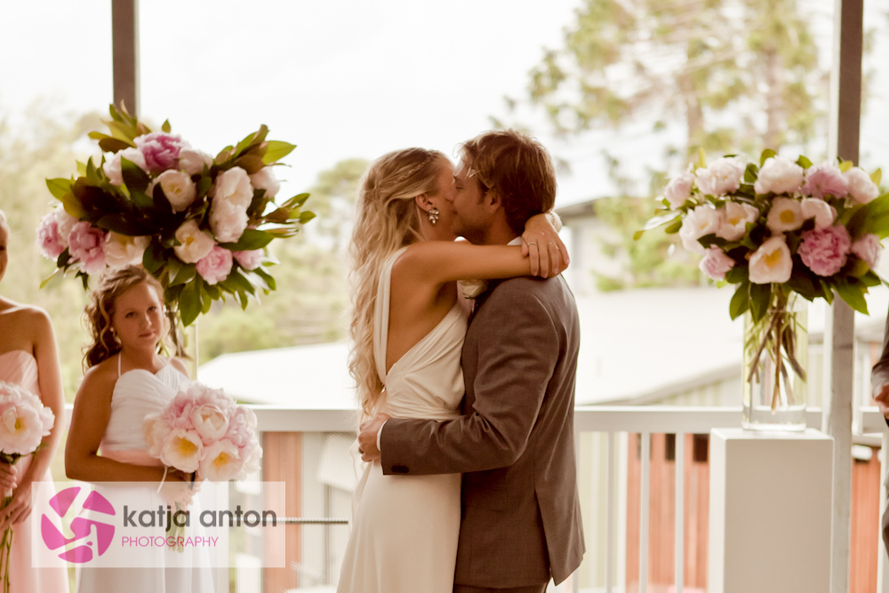 Noosa outrigger wedding