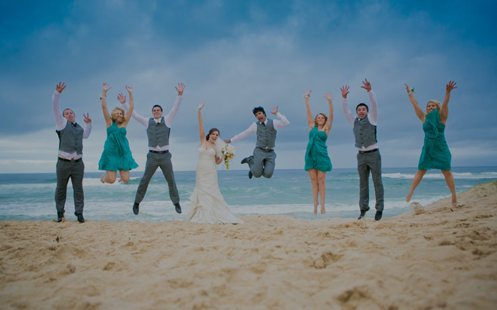 Noosa wedding photographer AKA weddings